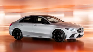 Mercedes A-Class Saloon - front tracking