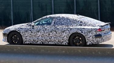 New Audi A7 spyshot - side/rear