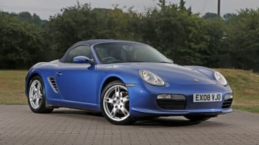 Used Porsche Boxster - front
