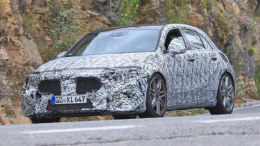 Mercedes-AMG A 45 spied - front