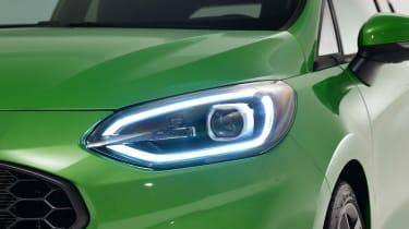 Ford Fiesta ST facelift - front light