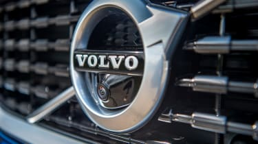 Volvo V60 T8 Twin Engine - Volvo badge
