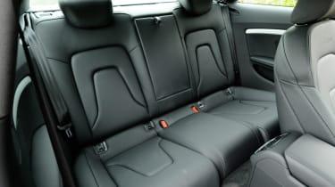 Audi A5 1.8 TFSI rear seats