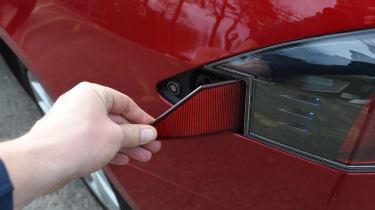 Tesla Model S long-term final report - charging point