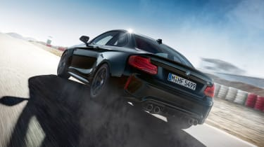 BMW M2 Coupe Edition Black Shadow - rear action