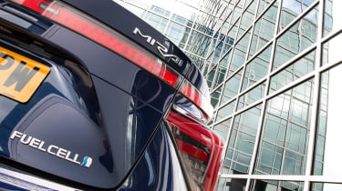 Toyota Mirai - rear detail