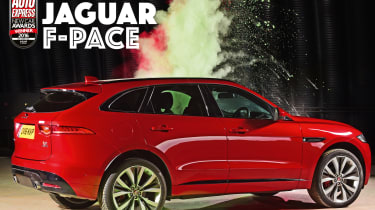 New Car Awards 2016: Compact SUV of the Year - Jaguar F-Pace