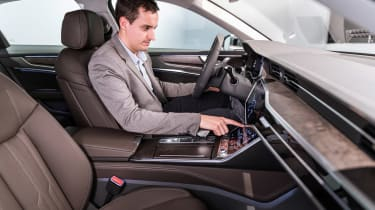 New Audi A6 - studio interior