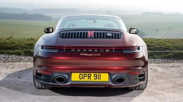 Porsche 911 Targa 4S Heritage Design Edition - full rear