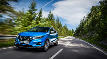 New Nissan Qashqai 2017 review tracking