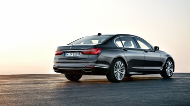 New 2015 BMW 7-Series rear side