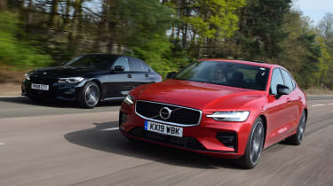 Volvo S60 vs BMW 3 Series - head-to-head