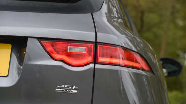 Jaguar F-Pace 25t - rear light detail