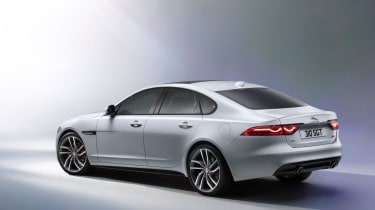 Jaguar XF S - rear static
