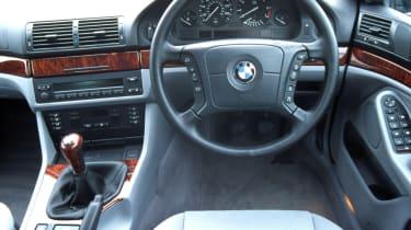 BMW 5 Series E39 interior