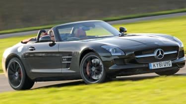 Mercedes SLS AMG Roadster front