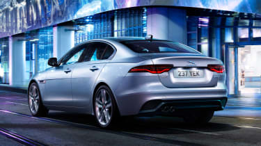 Jaguar XE - rear grey