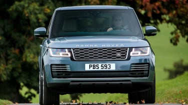 Range Rover SDV8 - front tracking