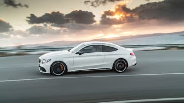 Mercedes-AMG C 63 S - side action