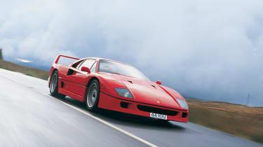 "<p class=""p1""><b>Ferrari</b> F40 (Tipo F120A)</p>"