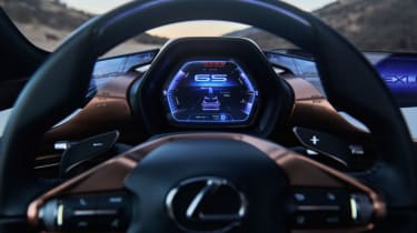 Lexus LF-1 Limitless - dash board