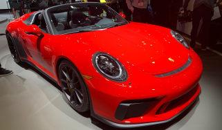 Porsche 911 Speedster - New York - front 3/4