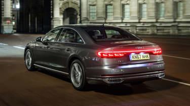 Audi A8 - rear action