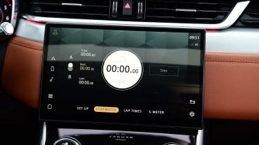 Jaguar XF facelift - infotainment