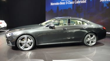 Mercedes CLs LA show pic side