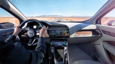Jaguar I-Pace - driving