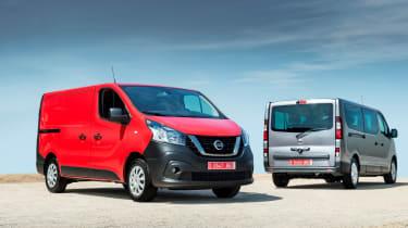 Nissan NV300 van van and combi