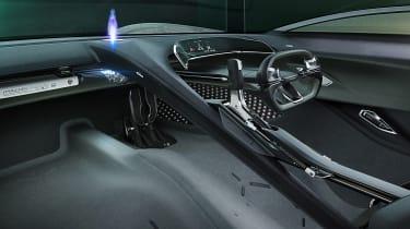 Jaguar Vision GT concept - dash
