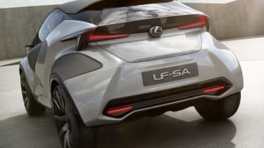 Lexus LF-SA - rear quarter