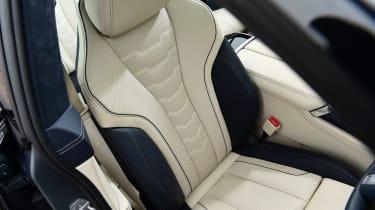 BMW M850i xDrive Gran Coupe - front seats
