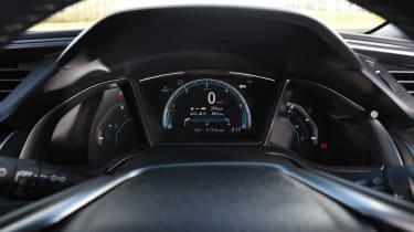 Honda Civic diesel - speedo