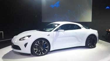 Renault Alpine Vision concept - show reveal front quarter