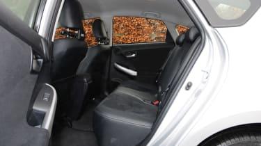 Toyota Prius plug-in 2013 rear seats
