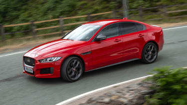 Jaguar XE 300 Sport - front/side