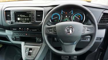 Vauxhall Vivaro-e - dash