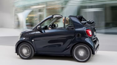 Smart ForTwo and ForFour Brabus cabrio rear
