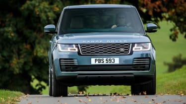 Updated Range Rover - full front