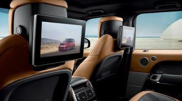 Range Rover Sport - rear screens