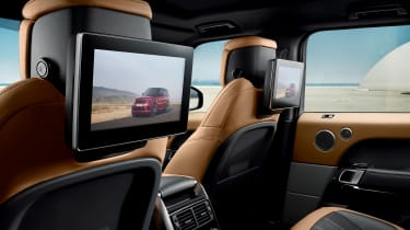 Range Rover Sport - rear screens