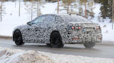 Audi A6 2018 spies rear side