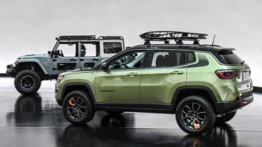 Jeep's wildest concepts driven - Jeep Switchback and Trailpass