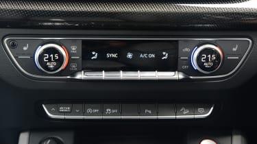 New Audi SQ5 2017 review UK - dashboard