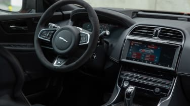 Jaguar XE SV Project 8 - interior