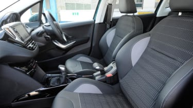 Used Ford EcoSport - front seats