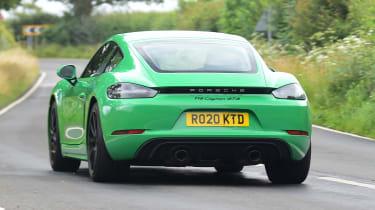 Porsche 718 Cayman GTS 4.0: long-term test review - first report rear