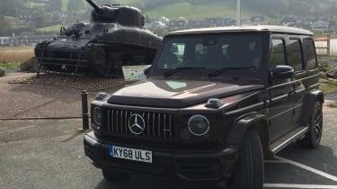 Mercedes-AMG G 63 Tank main